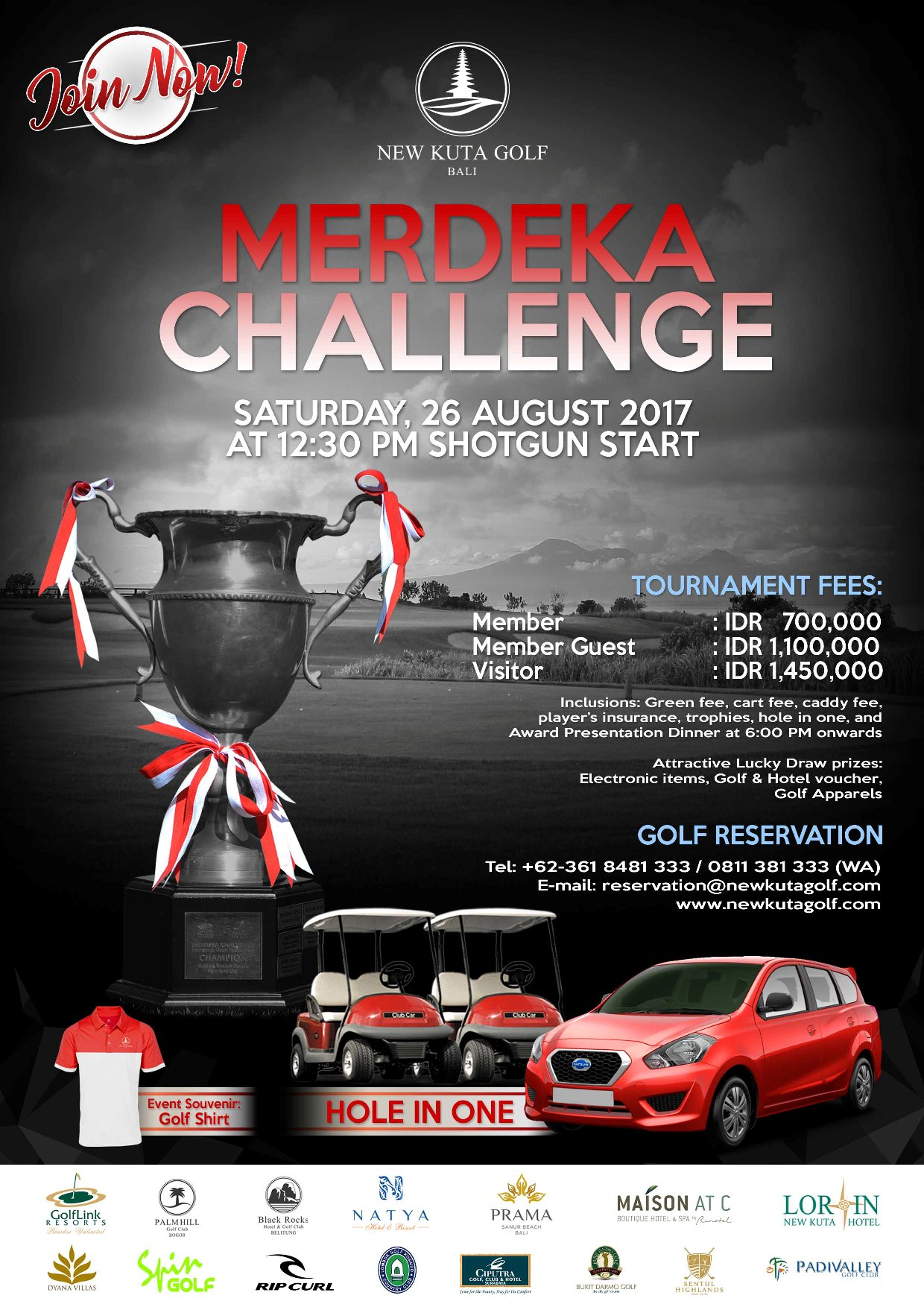 MERDEKA CHALLENGE GOLF TOURNAMENT
